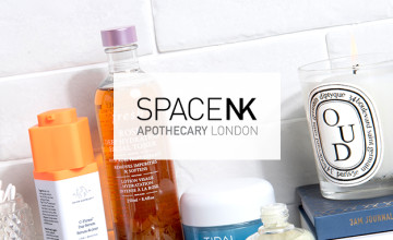 Free Standard Delivery on Orders Over £40 at Space NK