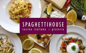 Three-Course Menu Deal is £19.95 at Spaghetti House