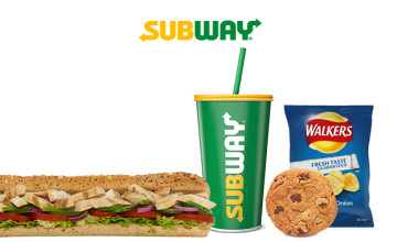 Free Snack (200 Bonus Points) 🙌 When You Download the Subway App