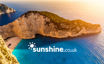 £30pp Holiday Deposits at sunshine.co.uk - Books Yours for Only £30!