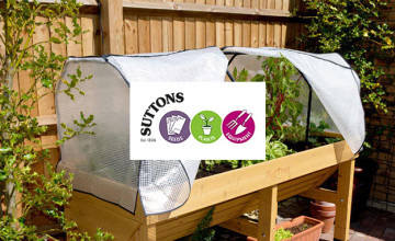 Save up to 60% on Last Chance Offers at Suttons Seeds