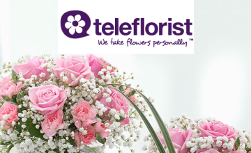 £5 Gift Card with Orders Over £20 at Teleflorist
