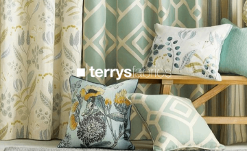 Up to 50% Off Orders | Terry's Fabrics Discount Code 🙌