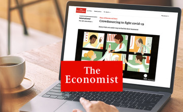 50% Off 12 Month Digital Subscription at The Economist