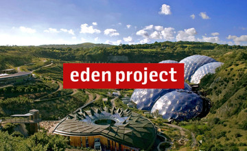 Family Entrance - 2 Adults & 2 Children Tickets (Only £75) at The Eden Project