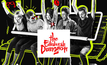 Up to 20% Off Online Bookings at The Edinburgh Dungeon