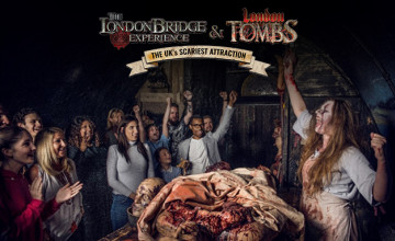 50% Off the Zombie Experience at The London Bridge Experience