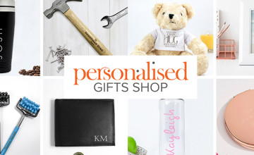 Free £5 Voucher with Orders Over £30 at The Personalised Gift Shop