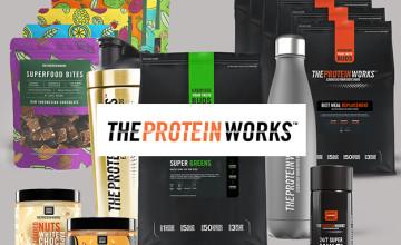 -12% suppl. parmi les promotions jusqu'à -85% chez The Protein Works
