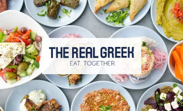 Get Click & Collect Service at The Real Greek