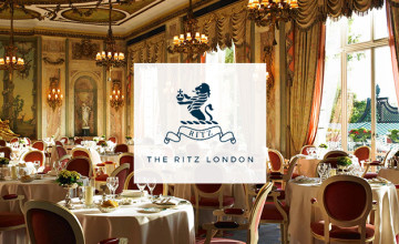3 Course Lunch for Just £93 Per Person at The Ritz - Plus Free Cookbook!