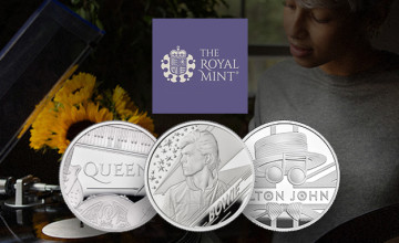 Free Delivery on Selected Orders at The Royal Mint with this Coupon