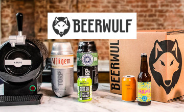 Free £10 Voucher with Orders Over £120 at Beerwulf