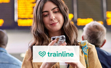 Free £5 Voucher with Orders Over £150 at trainline