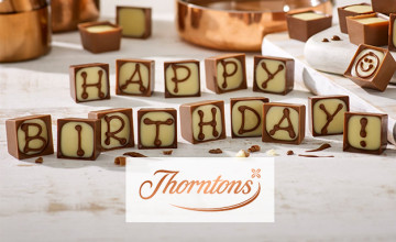 25% Off Selected Orders at Thorntons
