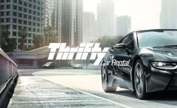 10% Off Long Term Second Car Hire Bookings at Thrifty Car Rental UK