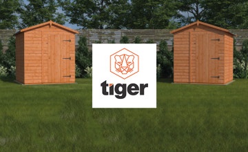 Free Delivery on Selected Orders at Tiger Sheds