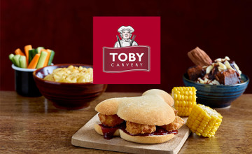 Sunday Carvery from £11.29 at Toby Carvery 👍