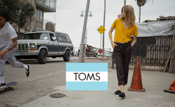 Purchase Selected Outlet Items with 40% Off at TOMS
