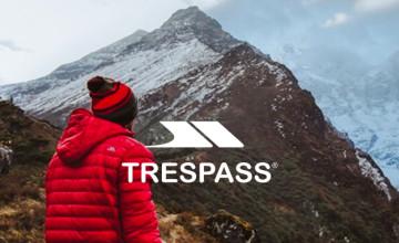 10% Off Orders Over £500 | Trespass Savings Code