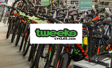 Up to 80% Savings on Bikes, Clothing, and More in the Clearance at Tweeks Cycles
