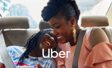 £18 Off First 4 Rides at Uber