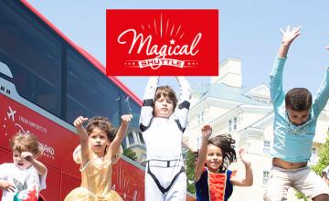En route vers la magie de Disneyland® Paris avec Magical Shuttle