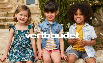 £10 Off Orders Over £60 | Vertbaudet Discount Code