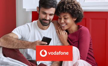 £100 Gift Card with Pay Monthly Contract Orders Over £50 at Vodafone