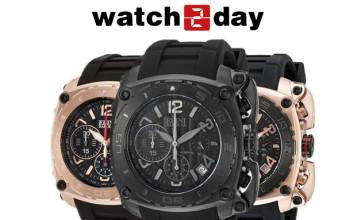Pak 50% Korting op Emporio Armani Horloges bij Watch2Day