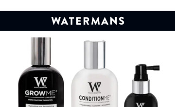 15% Off First Orders with this Watermans Hair Savings Code