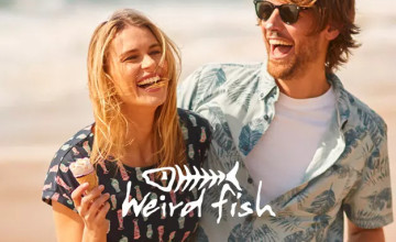 20% Off Everything + Free Express Delivery Over £60 | Weird Fish Discount Code