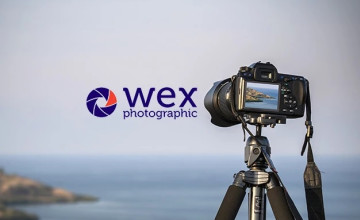 Up to £100 Cashback on Selected Orders at Wex Photographic