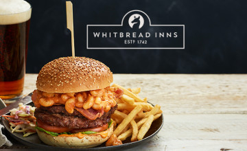 2 Mains for £8.99 with Brewers Fayre at Whitbread Inns