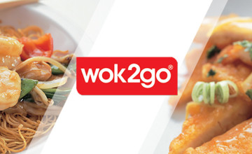 Main Dishes from Just £6.75 at Wok2go