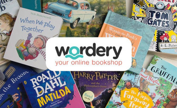 5% Off Second Book with 2 Book Orders at Wordery
