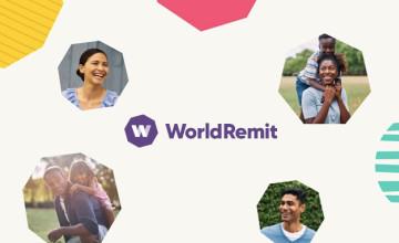 0€ de frais sur votre premier transfert d'argent avec WorldRemit