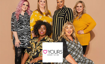 Up to 70% Off in the Sale at Yours Clothing - Dresses, Coats, and More