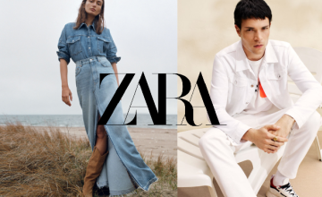 Free Delivery on Orders Over £50 at Zara