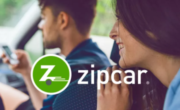 1-Hour Car Hire from £6 at Zipcar