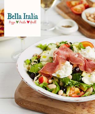 Bella Italia - 2nd Main 4 £1