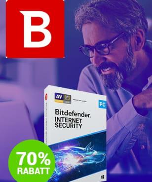 Bitdefender - 70% Rabatt