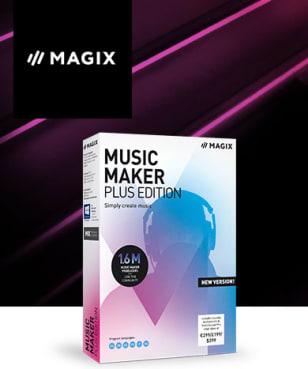 MAGIX Software - 20€ Rabatt