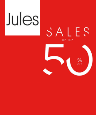 Jules - Up to 50% off