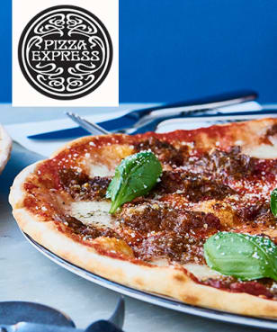 PizzaExpress - PizzaExpress - Up to 25% Off Food on Sunday at PizzaExpress