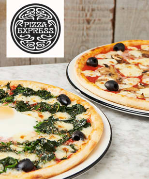 PizzaExpress - PizzaExpress - Up to 25% Off Food at PizzaExpress