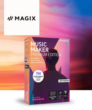 MAGIX Software - 55€ Rabatt
