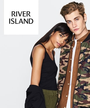 River Island - 60% Off