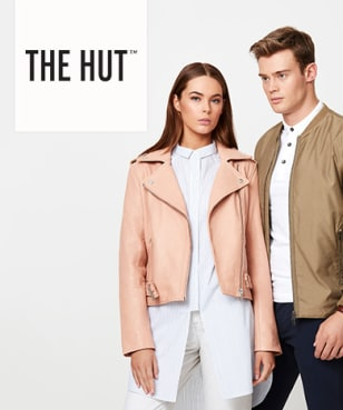 The Hut - 18% off