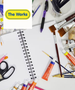 The Works - Free £5 Gift Card